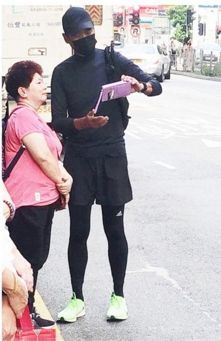 홍콩 시위 참여한 연예인
