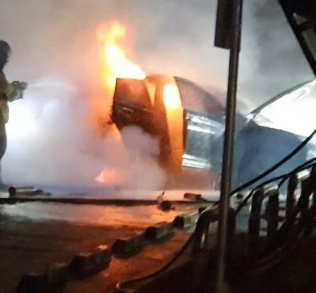 화재로 전손된 코나 전기차